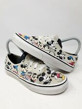 RARE Disney x Vans Mickey Mouse 90th Anniversary Birthday Shoes Women's Size 6