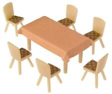 Faller HO Scale Scenery Accessory Kit 4 Tables & 24 Chairs