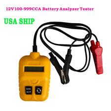USShip 12V Digital Vehicle Car Battery Tester Automotive Car Accumulator Battery