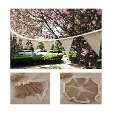 Fabric Bunting Pink Gold Ivory Wedding Celebration Party Decor 3m Megan
