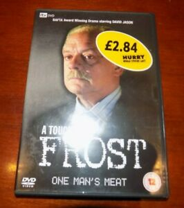 DVD   A TOUCH OF FROST ONE MAN'S MEAT