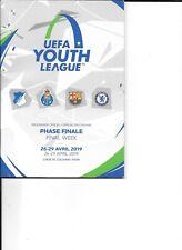 UEFA Youth League April 2019 Chelsea Barcelona Hoffenheim Porto