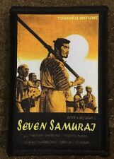 Seven Samurai Movie Morale Patch Military Tactical Army Flag USA Hook Badge