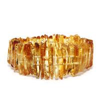Natürlich Baltischer Bernstein Armband Poliert Honig 25 g Baltic Amber Bracelet
