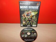 Marvel Nemesis: Rise of the Imperfects (Sony PlayStation 2, 2005) GOOD CONDITION