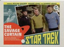 Star Trek TOS Captains Collection Lobby Chase Card #77 The Savage Curtain