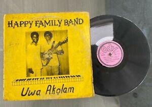 "Happy Family Band ""Uwa Akolam"" Rare Afro Gospel Highlife LP Ody Records Nigeria"