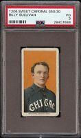1909-11 T206 Billy Sullivan Sweet Caporal 350 Chicago PSA 3 VG