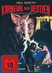 Paul Naschy - Karneval der Bestien - Blu-ray DVD - Mediabook Cover A - NEU OVP