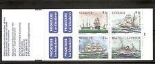 Sweden SC # 2342a Swedish Ships .  Complete Booklet