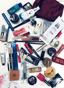 New Wholesale Lot Maybelline L'Oreal Revlon CoverGirl Clinique Mac Perfume Brush