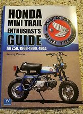 History of Honda Mini Trail Enthusiast's Guide Book Z50R Z50A Minitrail z50 50r