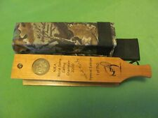 Nra World Game Calling Champion 2000 Dick Kirby Special Edition Turkey Call.
