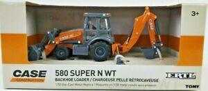 Ertl 1/50th Case 580 Super N WT Backhoe Loader Construction