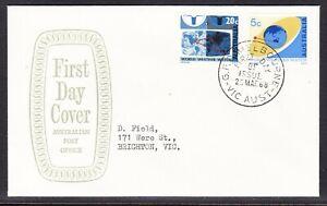 "Australia ""APO"" Grey 1968  Weather Watch Set  First Day Cover - Brighton Vic"