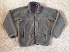 Vintage 90s Patagonia Retro X Deep Pile Fleece Jacket Green USA Made Mens Small
