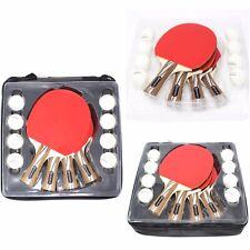 Opium Sport Table Tennis Ping Pong Professional Racket Set 4 Paddles & 8 Balls