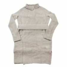NWT Rick Owens Pearl Vintage Sphinx Mohair Belted Long Cardigan Sweater S F/W15