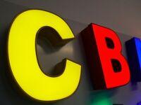 3D LED Einzelbuchstabe Leuchtbuchstaben 30 cm Höhe Made in Germany