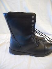Women's Rue 21 Extra Wide Tounge Front Lace Boots Size X-Large 10 Black  NEW