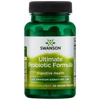 Swanson Ultimate Probiotic Formula Vegetable Capsules, 74.5 Billion CFU, 30 Ct