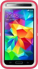 Otterbox-Defender-Case-Samsung-Galaxy-S5-Case-Only (Neon Rose Whisper White)