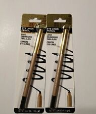 Milani Eye Liner #01 True Black smooth -glide application. Made in USA,lot of 2.