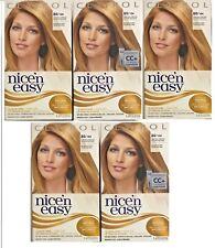 Clairol Nice ' N Easy Hair Color 8G / 104 Natural Medium Golden Blonde Lot of 5