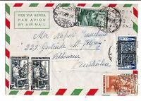 1952 - Modena e Parma - lire 60 -  Sass 690 - Per Australia  - 1952