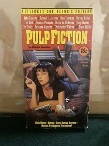 RARE Pulp Fiction Vintage VHS LETTERBOX Collector's Edition