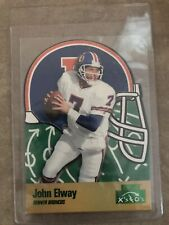 1996 Playoff X's And O's John Elway Die Cut