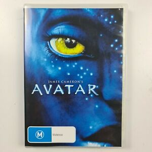 Avatar DVD - James Cameron - Sam Worthington - R4 PAL - FREE TRACKED POSTAGE