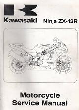 Kawasaki Ninja ZX-12R 2002 Service Manual 99924-1278-01