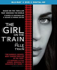 The Girl on the Train (Blu-ray Disc, 2017,Canadian) no dvd, no hd