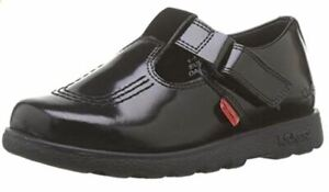 Kickers's Little Girls Fragma T-Bar Patent Leather Shoes