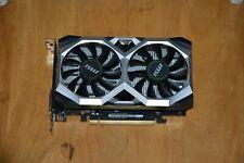 MSI NVIDIA GeForce GTX 1650 Ventus xs 4GB GDDR6 PCI Express 3.0 Graphics Card