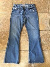 Women's BKE Denim 1967 Star Long Jeans 33 x 33.5 Factory Distressed.  Cute Jeans