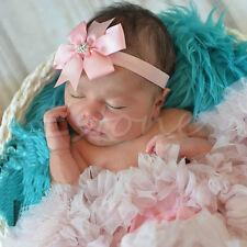 10pcs Baby Newborn Girl Bow Headband Infant Toddler Hair Band Girls Accessories