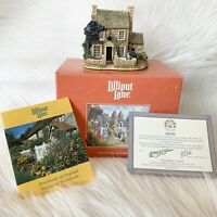 1996 Lilliput Lane Swaledale Teas Cottage L2015 With Box and Deed