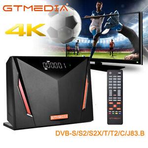 Original GTMEDIA V8 4K DVB-S2/S2X/T2/Cable Satellite Terrestrial TVSAT Receiver