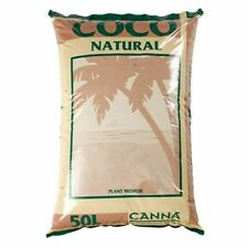 More details for hydroponic canna coco natural 50l 10 25 50 litre coir growing medium bag