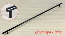 "28"" Solid Kitchen Cabinet Bar Pull Handle With Oil Rubbed Bronze Finish ORB"