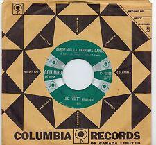 MFD IN CANADA 1960s FRENCH POP 45 RPM LES RIFF CHANTENT : GARDE-MOI LA DERNIERE