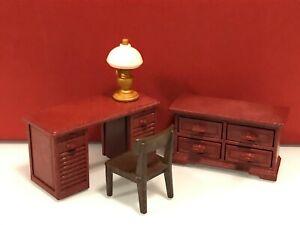 Playmobil city life casa de muñecas muebles despacho escritorio cómoda cajonera