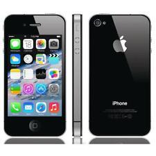Apple IPHONE 4s Negro 16GB Sin Bloqueado Akzeptabler Estado Händlerware