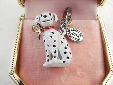 Juicy Couture Limited Edition 2013 Dalmation Dog charm clip on rare w/ gold box
