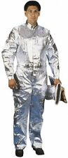Steel Grip Silver Aluminized Kevlar Coveralls Mens Size Large ATH415L 6B
