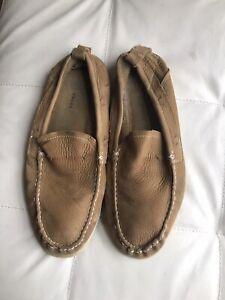 UGG Men's Leather Moccasins  - Size 10.5