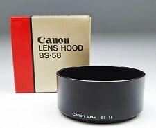 Canon Lens Hood BS-58