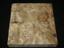 """Exotic Oregon Myrtlewood Burl Block Instrument Carving Craft Art 11"""""""